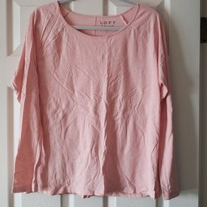 Loft Vintage Soft Large Pink.  EUC.